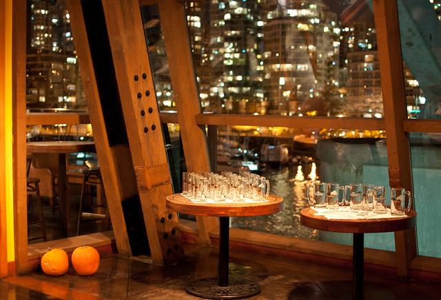Sandbar Restaurant interior