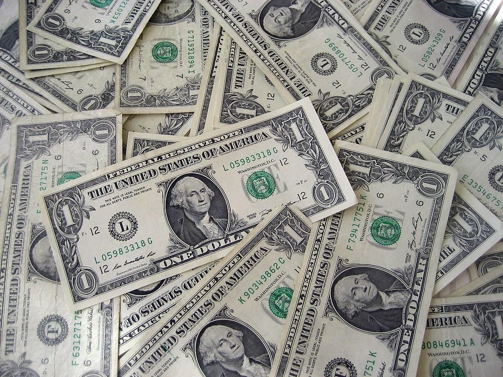 Dollar Bills by 401(K) 2013, on Flickr
