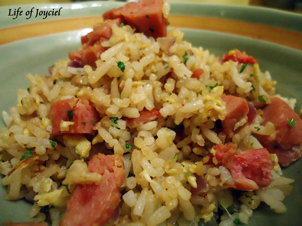 Spam Fried Rice (Close Up)
