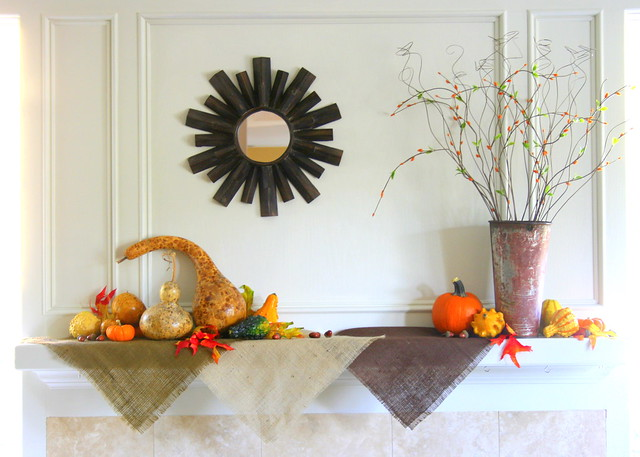 Fall Mantle Display