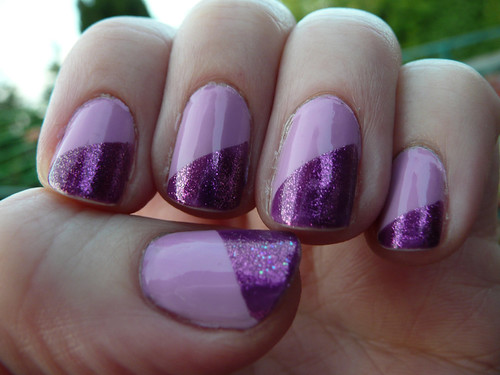 purple diagonal mani 2