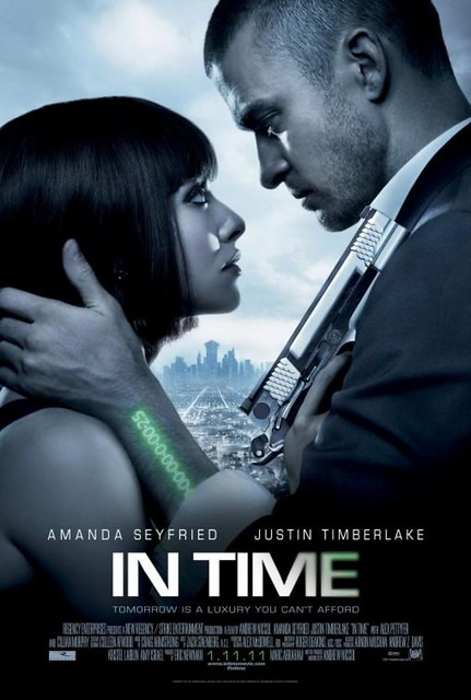 in time movie poster justin timberlake [1600x1200]