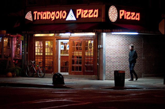 300/365 - Triangolo Pizza, Manhattan Avenue, Greenpoint.