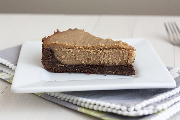 Peanut Butter-Brownie Cheesecake