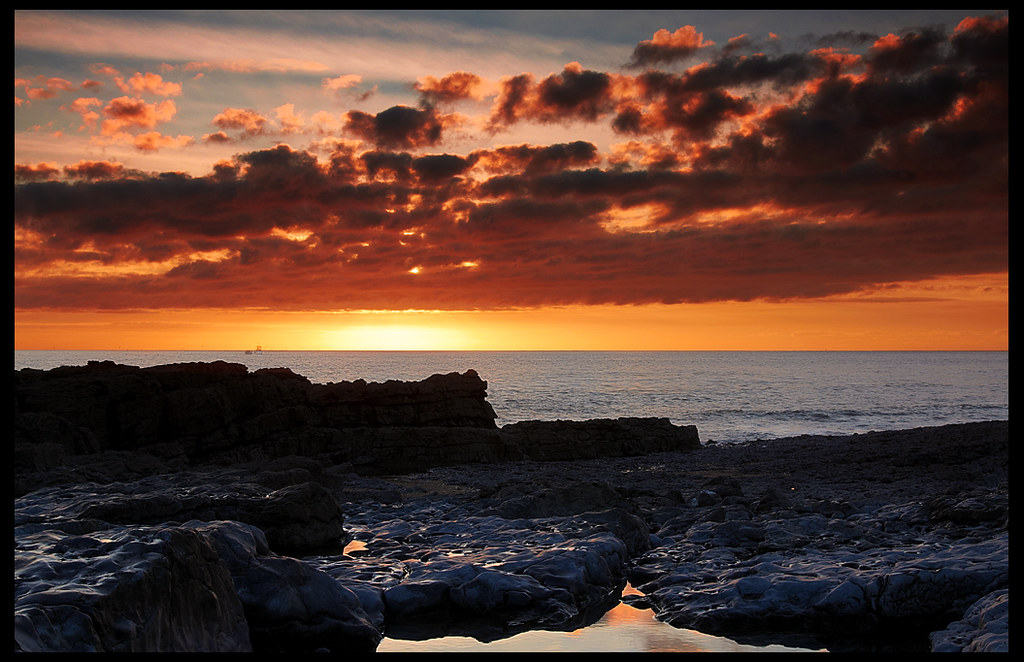 Porthcawl Sunset