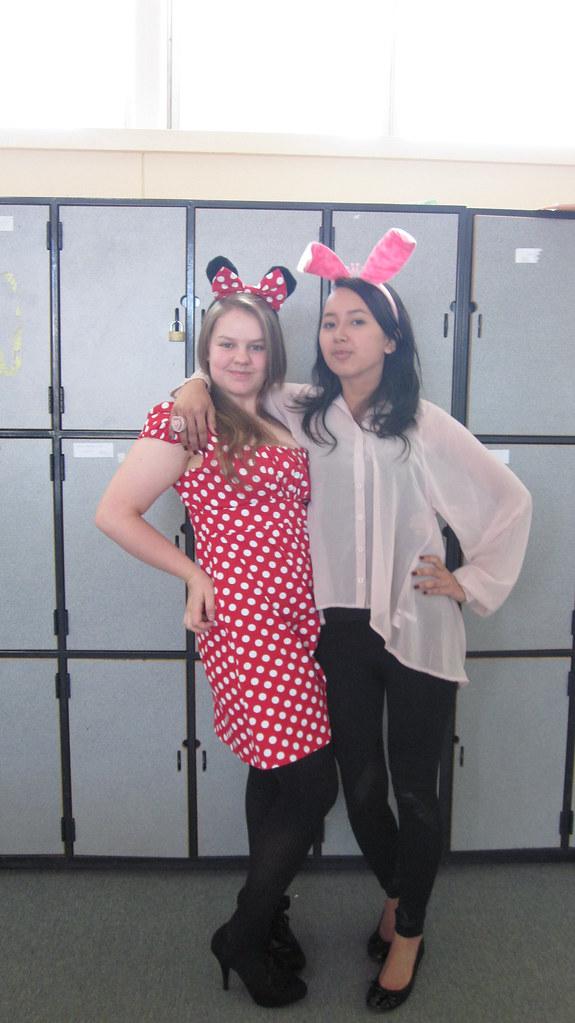 Minnie and Bunnie