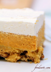 Pecan Pumpkin Dessert (Food Snots) Tags: 3 fall halloween yellow cake cheese pumpkin recipe dessert frozen milk amazing mix miracle bottom cream best sugar desserts butter whip layer layers vanilla recipes pecan topping confectioners whipped pecans powdered crumbly evaporated solidpack