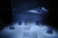 #3 (MaraFemia) Tags: blue light white black water glass set painting nikon long exposure blu 18 55 acqua bianco nero luce vetro lunga esposizione d90 fotemia