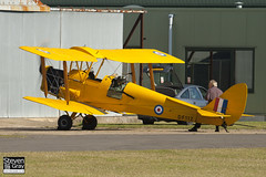 G-ANRM - DF112 - 85861 - Private - De Havilland DH-82A Tiger Moth II - Helitech 2011 Duxford - 110928 - Steven Gray - IMG_9389