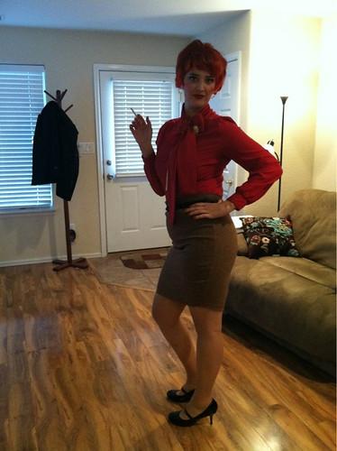 Me as Joan Holloway