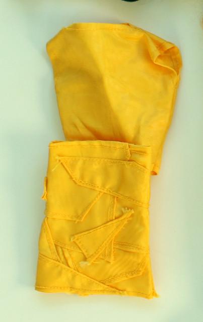 appliqued skirt