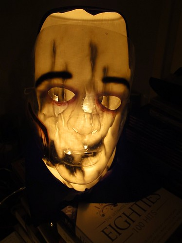 Freaky mask lamp