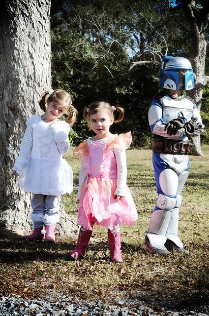 costumed crew