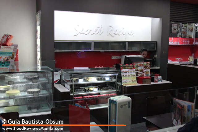 Secret Recipe interior