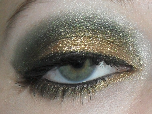 Lacquered Painted Polished EOTD Match Your Eye Color