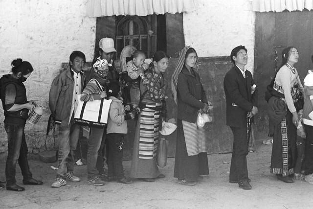 黑白 • 西藏 Tibei in B&W