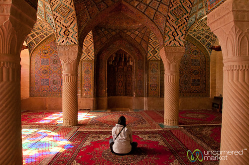 Pink Mosque - Shiraz, Iran