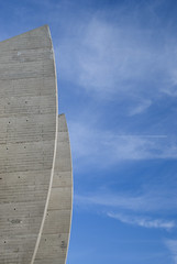 Parc des Princes, Paris XVIe, France (D*C) Tags: blue sky urban 6 paris detail azul architecture des bleu ciel cielo capitale princes nuage arrondissement parc nube ville beton urbain psg cuidad 16e xvie