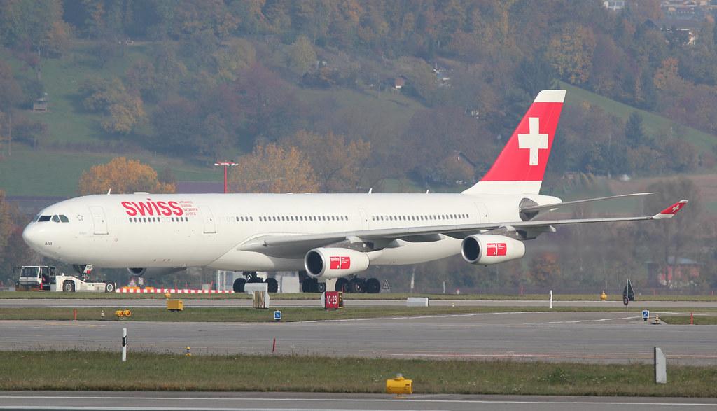 Swiss Airbus A340-313X