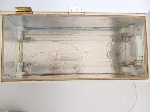 Old uv exposure box