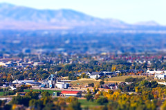 Mini Factory (Photo Dean) Tags: autumn usa fall utah miniature ut shift tilt draper tiltshift 2011