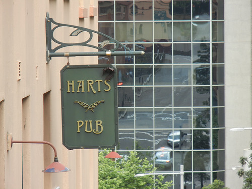 Harts Pub sign, The Rocks, Sydney