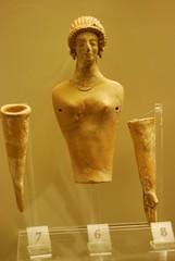 Female figurine Mycenae (konde) Tags: museum greece figurine mycenae ancientgreece mykene archaeologicalmuseumofmycenae