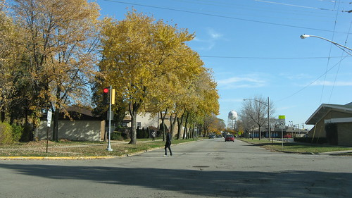 Autum in Franklin Park Illinois USA. Saturday, November 5th, 2011. by Eddie from Chicago