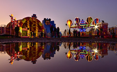Fairground rides (Danny Beath) Tags: wintertime nocturnalentertaimments