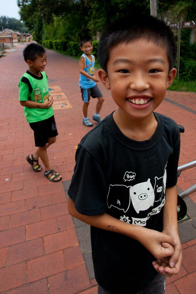Crianças de Kinmen, Taiwan