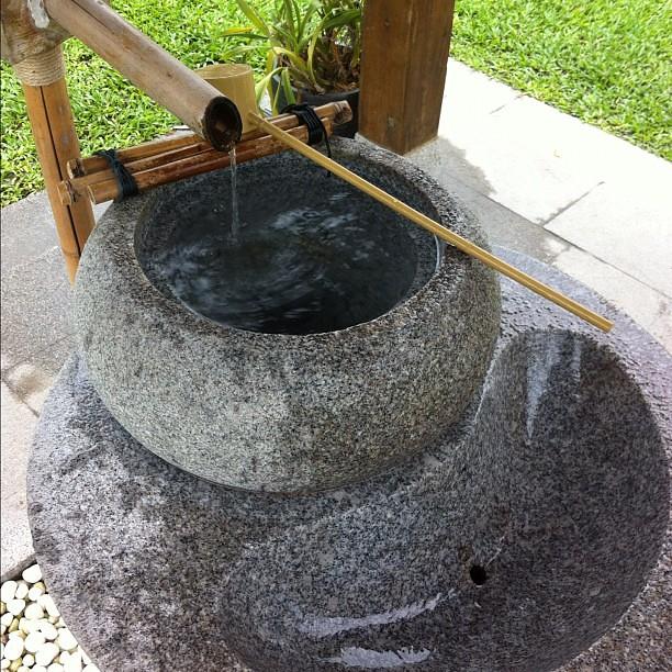 吉安慶修院:手水舍