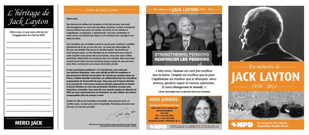 En mémoire de Jack Layton - Page 1