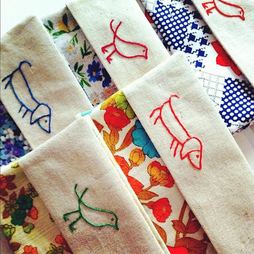 vintage fabric tissue holders for @BrisStyle eco market on Saturday