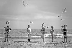 Dorritos Commercial (D()MENICK) Tags: seagulls girl football shoot bikini commercial dorritos
