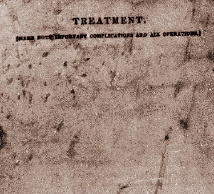 Lewis Stewart Civil War Hospital Treatment