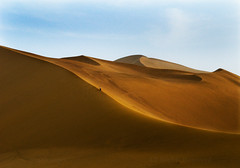 CHINA (BoazImages) Tags: china nature asian landscapes sand scenery asia desert dune central chinese scenic silkroad gobi boazimages