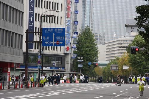 これも大阪の風景 / The shutting out