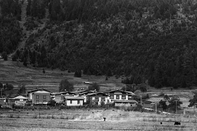 黑白 • 西藏 Tibet in B&W