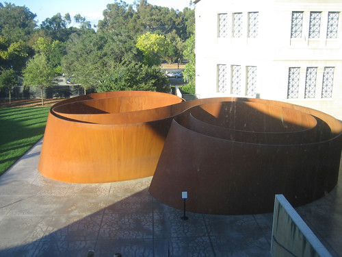 Sequence, Steel, Richard Serra, Cantor Art Museum, Stanford University, California _ 0690