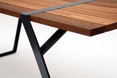 Flint Collection (Ross Gardam) Tags: table design flint furnituredesign tait spaceleft rossgardam flinttable