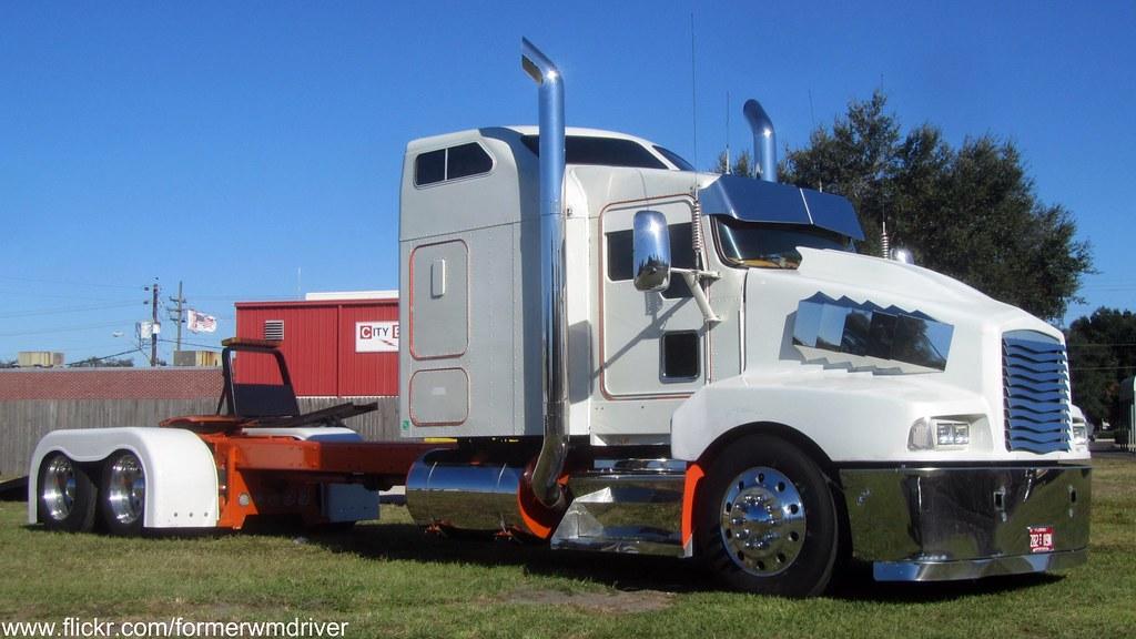Trucks Custom Big Rig Orange : The world s best photos of kenworth and orange flickr