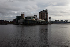 Salford Quays (dive-angel (Karin)) Tags: uk england water river manchester salfordquays salford quays 2470mm modernarchitectur eos5dmarkii