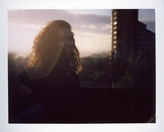 (slona) Tags: camera sunset portrait polaroid exposure fuji 420 m land multiple byker 100c