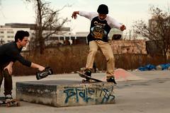 Skater: Tyler Corsano (AndrewVincent Photography) Tags: new city nyc newyorkcity ny newyork canon skateboarding nj foundation skate jersey trick filming shred