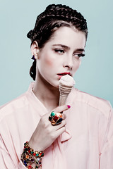 I want Candy (Nebulaskin) Tags: pink beauty make up hair de candy invierno helado pelo joyas rosado trenzas nebulaskin