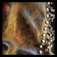 #leather #jacket #htc #tattoo #madeinitaly #chains