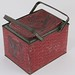 218. Vintage Litho Tin Basket