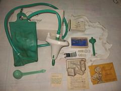 Dainty Maid Irrigator From USA Early Fifties (Lombardarella) Tags: woman female system maid dainty canula enema irrigator cannula lavement canule earigator colonator