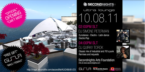 Secondnights Ultra Lounge OPENING