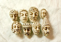 face bead group (SelenaAnne) Tags: